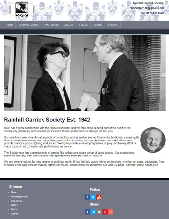 Rainhill Garrick Web Design